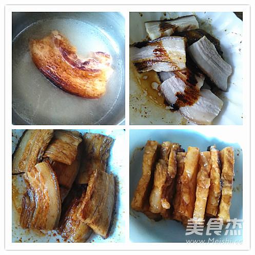 芽菜扣肉的家常做法