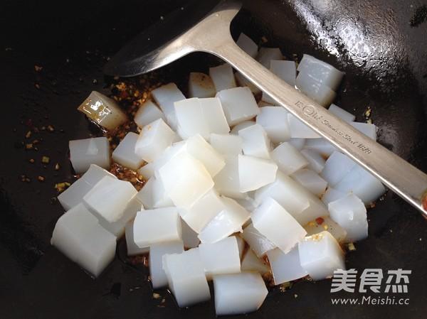 豉香炒凉粉怎么吃