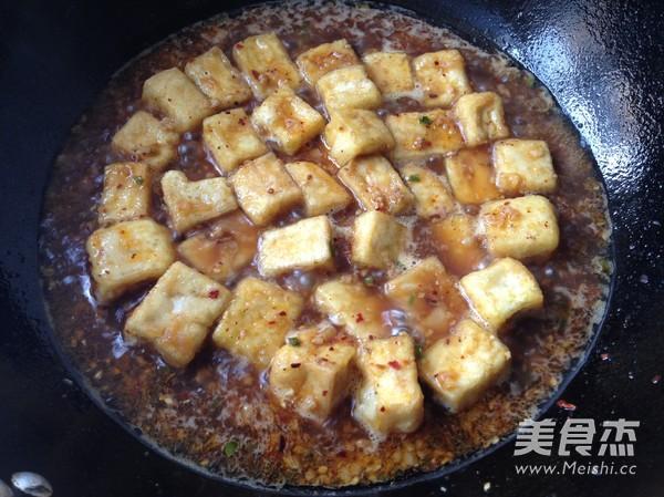 肉末豆腐怎么煸