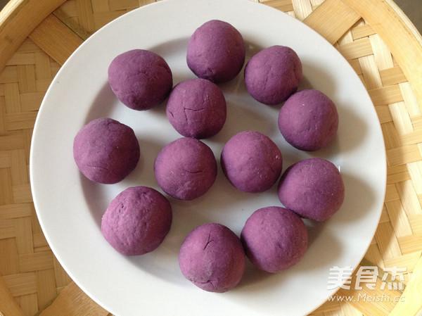 紫薯开花馒头怎么做