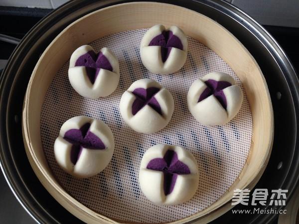 紫薯开花馒头怎样做