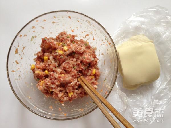 鲜肉烧麦的简单做法