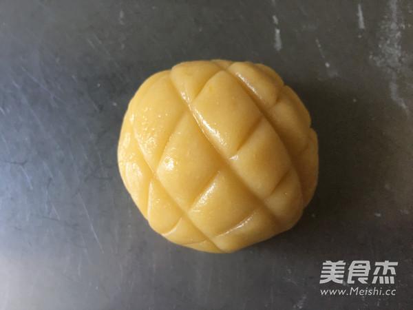 菠萝面包的制作方法