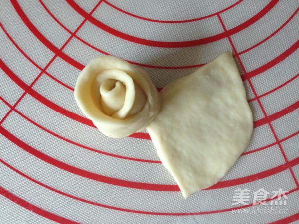 玫瑰花面包怎样煸