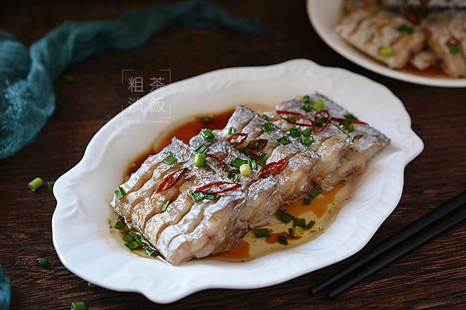 葱油带鱼成品图
