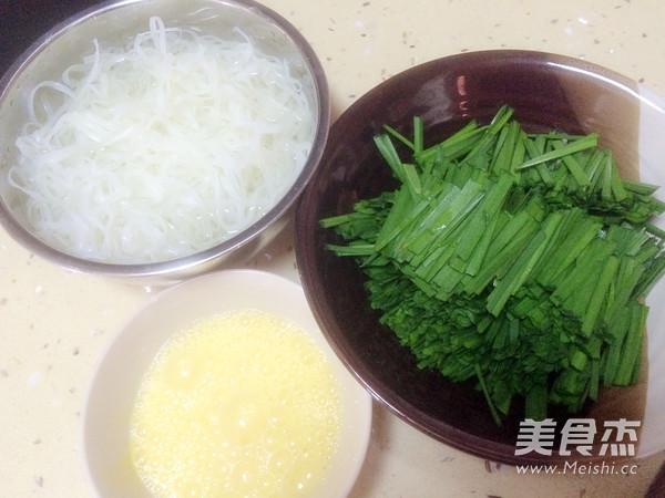 韭菜炒河粉的做法大全