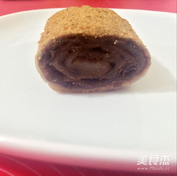 老北京传统小吃—驴打滚成品图