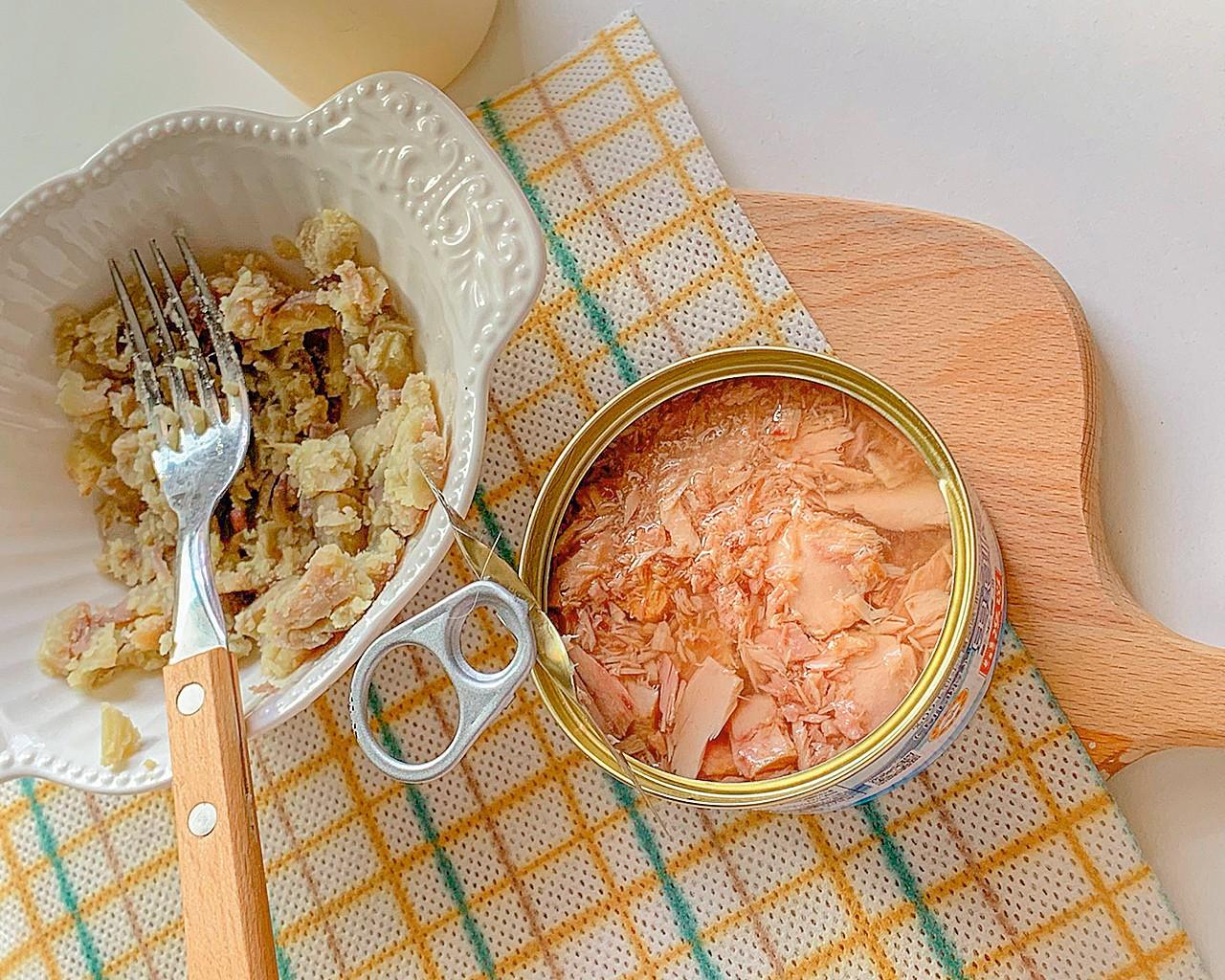 低脂低卡金枪鱼水煮蛋塔怎么做