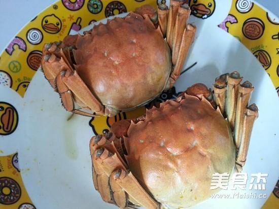 清蒸大闸蟹的家常做法