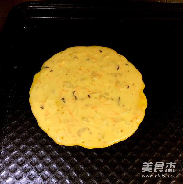 鲜虾鸡蛋饼怎样做