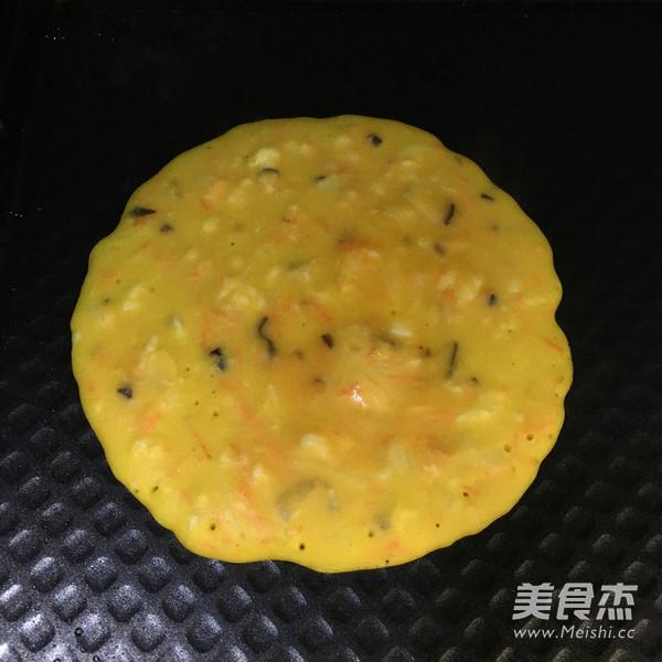 鲜虾鸡蛋饼怎样炒