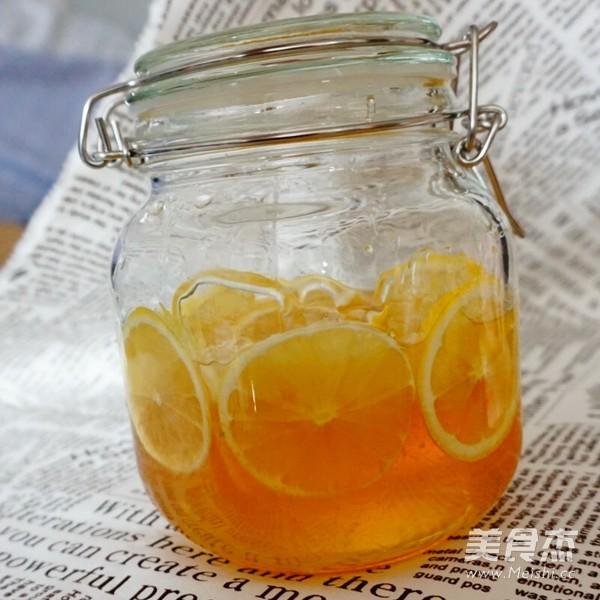 蜂蜜柠檬成品图