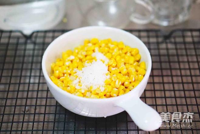 芝士玉米粒的简单做法