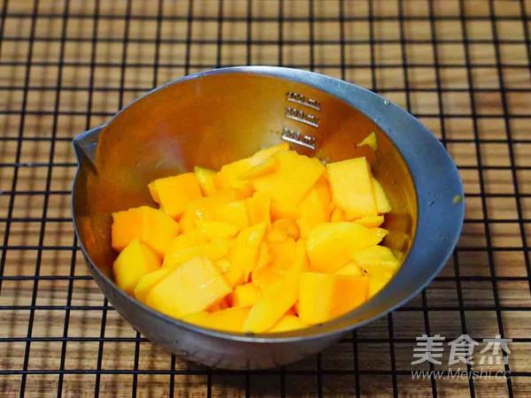 芒果椰奶西米露的家常做法