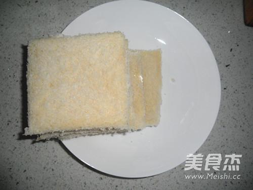 玉米粒三明治的做法图解