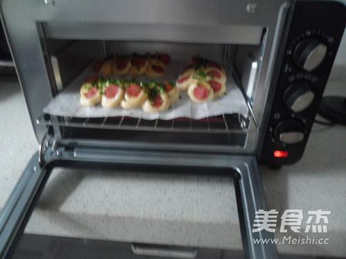 野葱香肠面包怎样炒