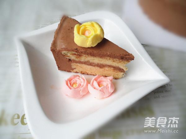 巧克力慕斯蛋糕成品圖