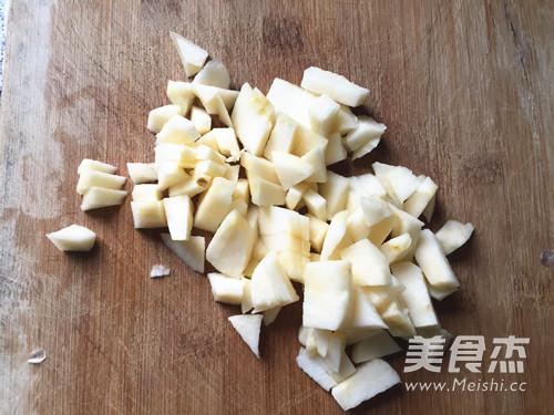 桂花苹果圆子的简单做法