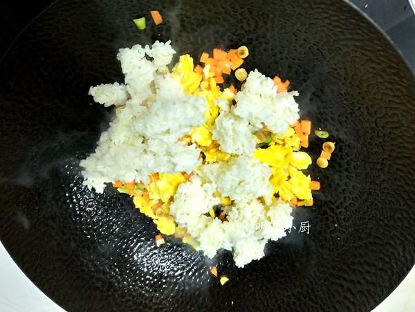 海苔蛋炒饭怎么吃