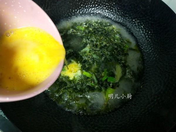 海苔蛋花汤的简单做法