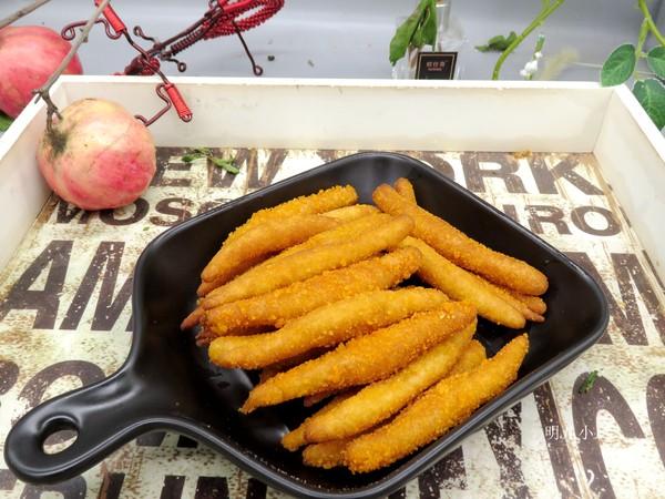 红薯条成品图