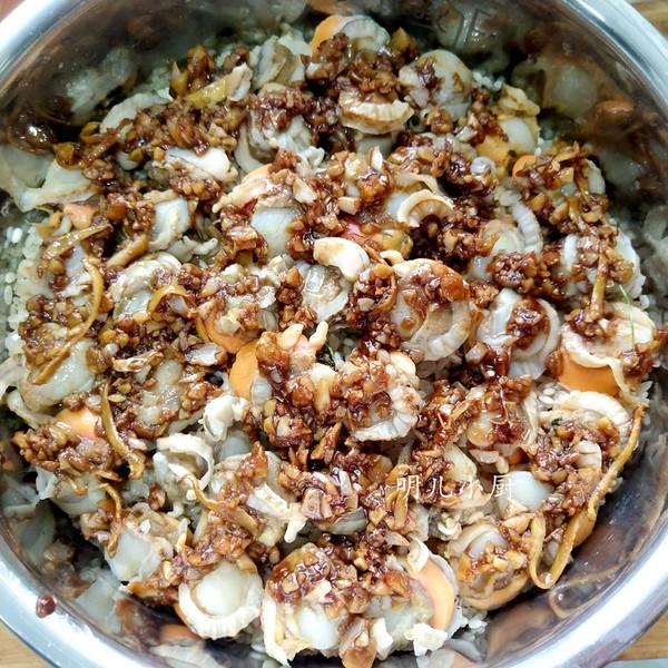 扇贝焖饭怎么做