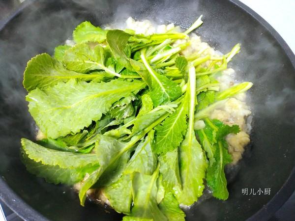 酥肉炖油菜怎么吃