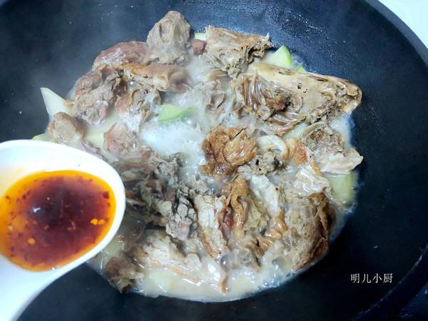 鸭肉萝卜汤的简单做法