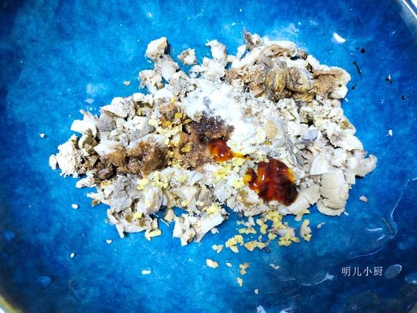 蒜黄生蚝饺子的做法图解