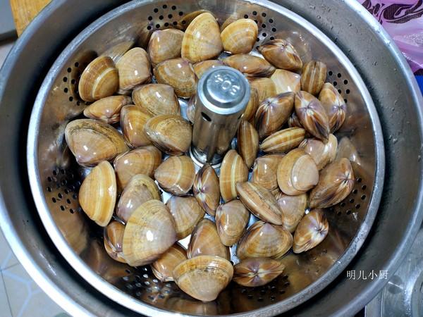 蒸蛤蜊的家常做法