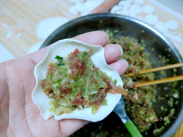 牛肉萝卜饺子的简单做法