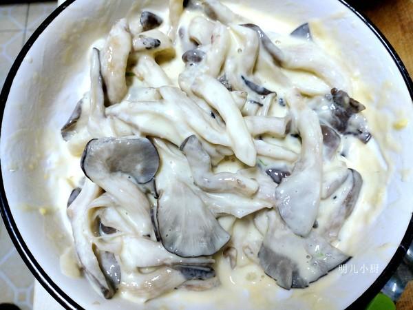炸蘑菇的简单做法
