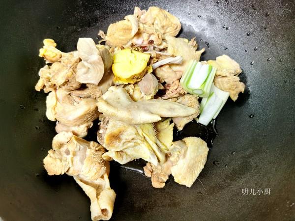鸡块炖蘑菇的做法图解