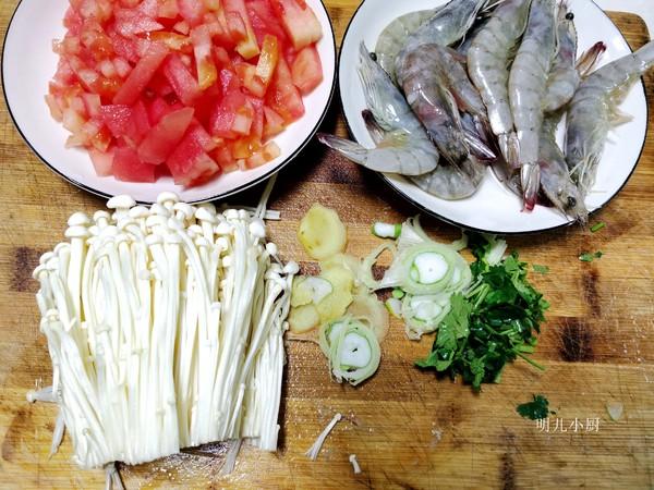 番茄虾汤的做法大全