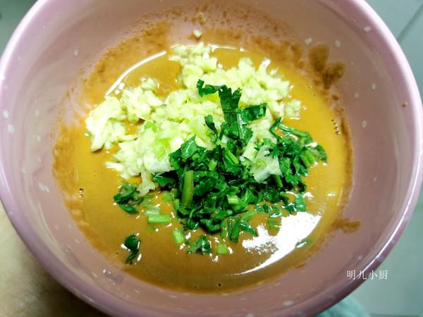 麻汁芸豆的简单做法