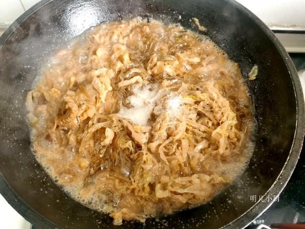 猪肉酸菜炖粉条的步骤