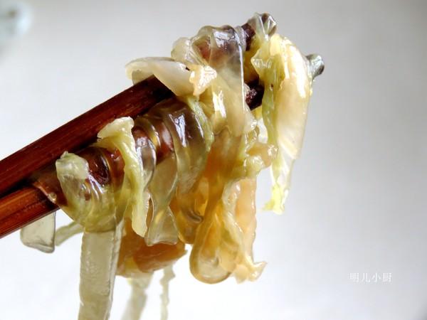 猪肉酸菜炖粉条成品图