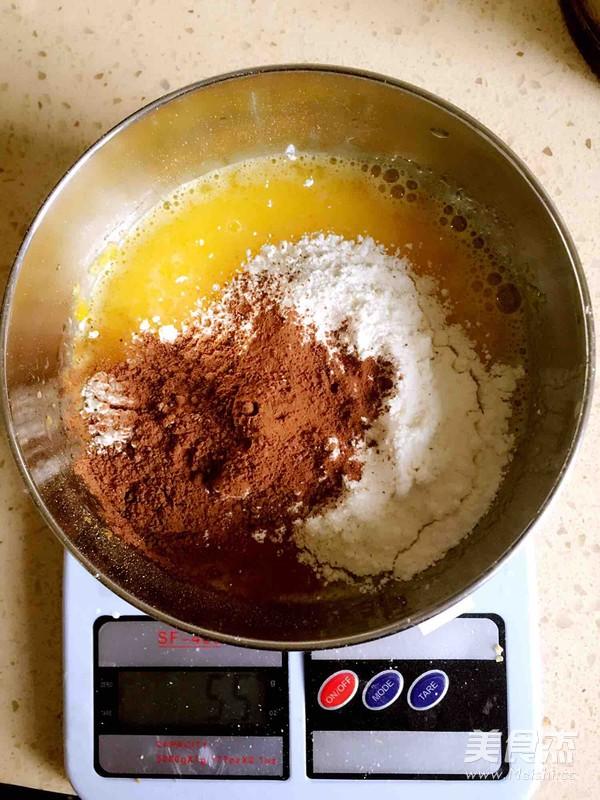 巧克力戚风蛋糕的做法大全