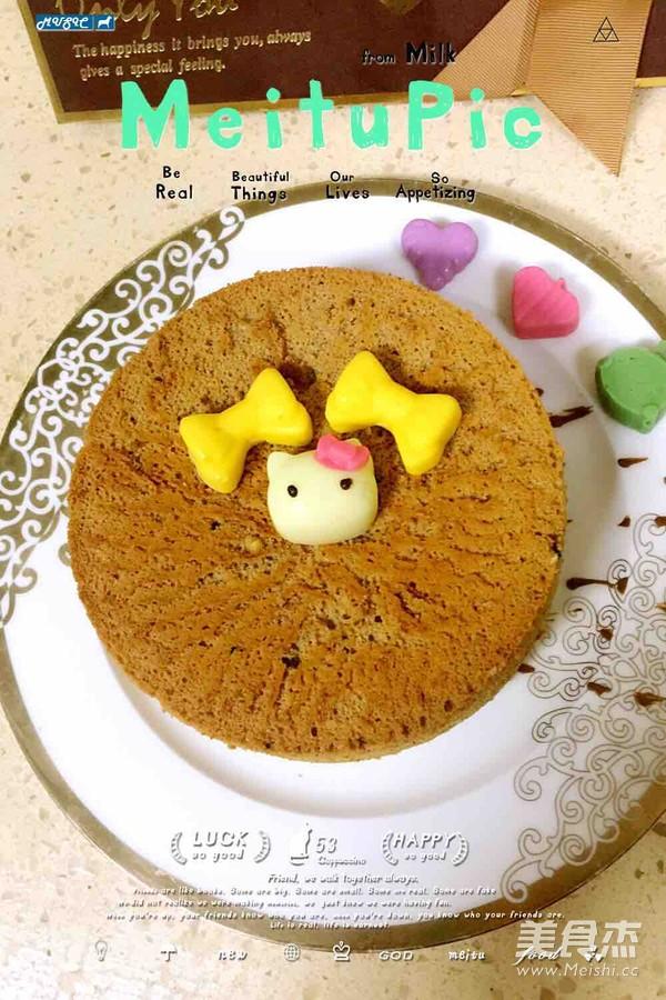 巧克力戚风蛋糕怎么做