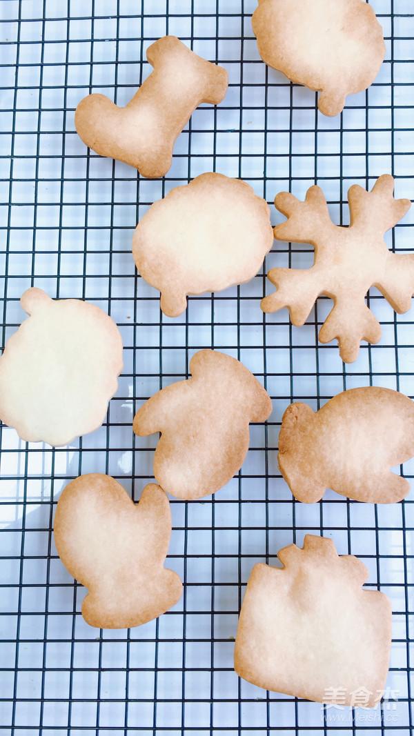 圣诞节糖霜饼干DIY怎么炒