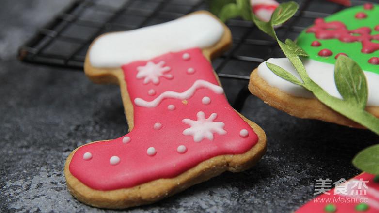 圣诞节糖霜饼干DIY怎么煸