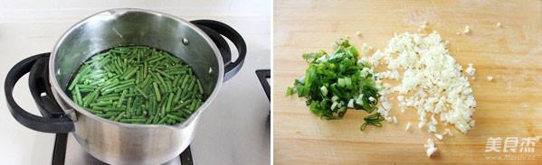 炝拌豇豆的做法图解