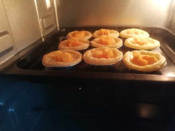 快手芒果蛋挞(非奶油版)怎么煮