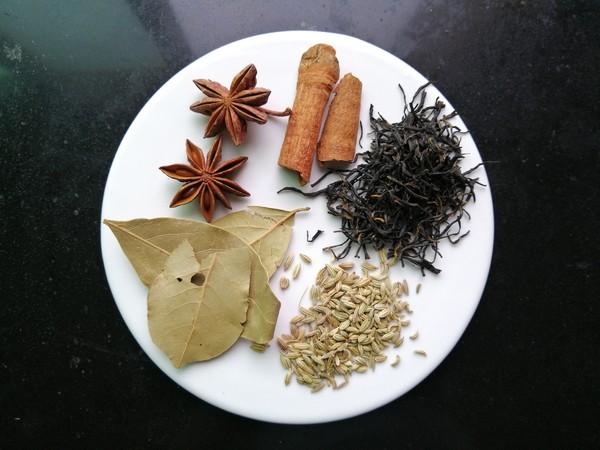 五香茶花生的做法图解