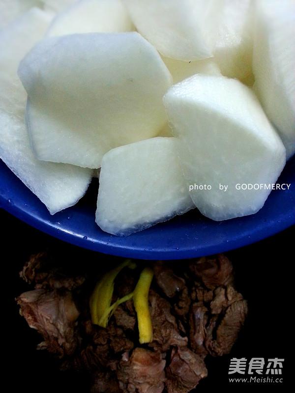 清炖羊肉萝卜汤怎么吃