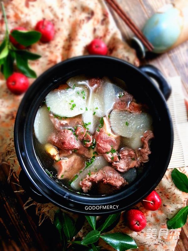 清炖羊肉萝卜汤怎样做