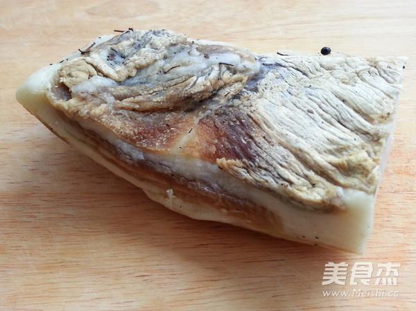 藜蒿炒腊肉的做法图解