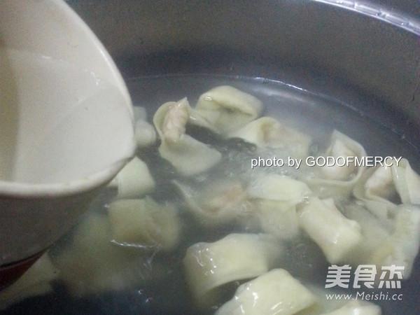 广东鲜虾云吞怎样煮