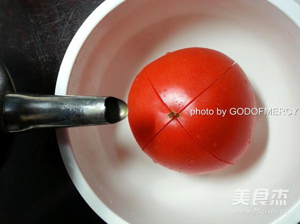 番茄鸡脯肉圆子汤的简单做法