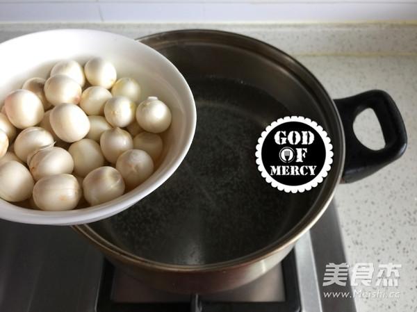 莲子丝瓜汤面怎么吃
